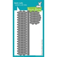 Lawn Fawn - Lawn Cuts Dies - Picket Fence Border Dies LF853