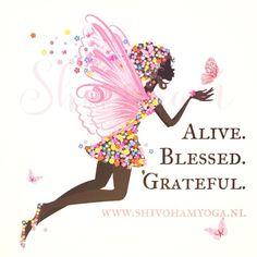 Alive. Blessed. Grateful ♡ http://www.shivohamyoga.nl/ #inspiration #5d…