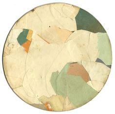 Tom Moglu: Elise - Collage on card 193x193mm £200GBP