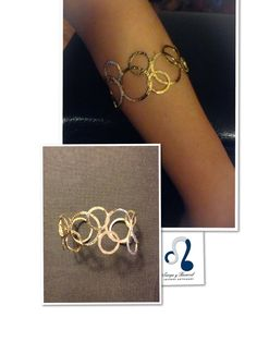 Brazalete Círculos. Sierpe y Becerril jewellers Spain. #jewels #madrid #fashion #spring2014