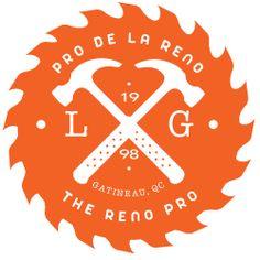 Logo Ottawa Contractor Handyman Logo, Craft Eyes, Construction Logo Design, Round Logo, Business Logo Design, Create Website, Reno, Cool Logo, Identity Design