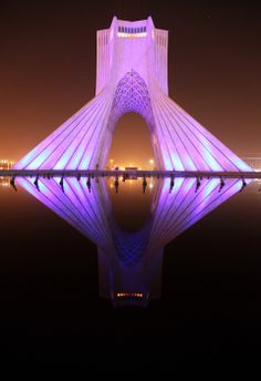 Azadi Tower in Tehran, Iran