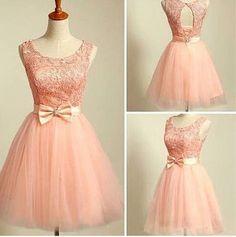 Pretty Lace A-Line Short/Mini Prom Dress,Homecoming Dress,Graduation Dress,Party Dress F56