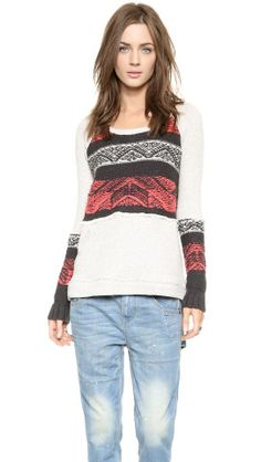 Free People Snow Angel Pullover | How would you style this for fall? http://keep.com/free-people-snow-angel-pullover-by-carly_press/k/23d8_XABDC/