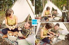 d a n a j o p h o t o s . c o m: Holly + Dee's Rusting Camping Engagement Session | Eastern NC Wedding Photographer