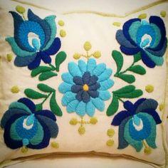 Bright pillow