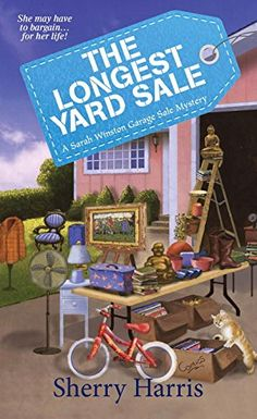 The Longest Yard Sale: A Sarah Winston Garage Sale Mystery (Sarah Winston Garage Sale Mysteries) by Sherry Harris http://www.amazon.com/dp/161773019X/ref=cm_sw_r_pi_dp_R.Bhvb0QF15YK