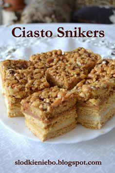 Ciasto Snikers - http://www.mytaste.pl/r/ciasto-snikers-9397011.html