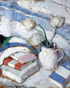 Anne Redpath - Still Life with Tulips
