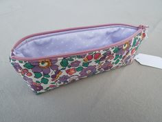 "Pencil Case - Liberty Fabric ""Betsy"""