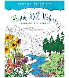 Readerlink Beside Still Waters Adult Coloring Book: Coloring the Psalms by Ember Canada