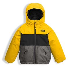 The North Face Toddler Boys' Brayden Insulated Jacket - - Canary Yellow North Face Nuptse Jacket, North Face Jacket, Girls Winter Jackets, Jackets For Women, Swag Outfits, Kids Outfits, Luxury Baby Clothes, North Face Fleece, Zara Kids