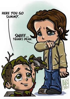 Dean will do anything for Sammy.