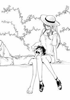 One Piece Ship, Nami One Piece, Manga Anime One Piece, One Piece Fanart, Luffy X Nami, One Piece Funny, Anime Love Couple, Haikyuu Anime, Anime Shows