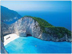 Shipwreck Beach Zakynthos | Navagio Beach Zante by Travel Zakynthos