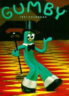 California Raisin 1989 Collectible Calendar