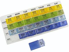 Weekly Dose Removable Organizer *** This is an Amazon Associate's Pin. Details on product can be viewed on Amazon website by clicking the VISIT button.