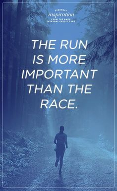 Running Matters #245: The run is more important than the race.
