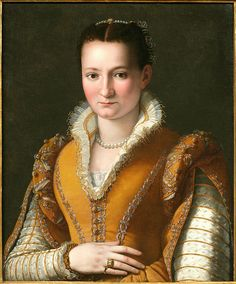 Portrait of a Young Girl by Alessandro Allori, 1580s