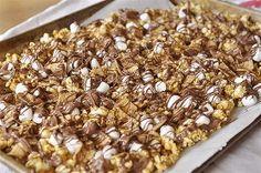 Back to School Treat: S'Mores Caramel Popcorn - MoneySavingQueen - August 2012