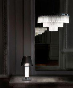 The 'Orgue' Chandelier :  Lalique