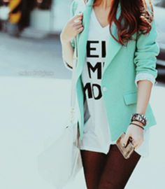 Fashion: Mint Colored Clothes & Accessories : theBERRY