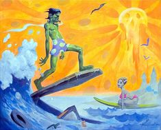 Franken-Surfer