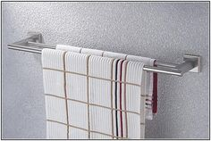 Towel Bars For Bathrooms Brushed Nickel