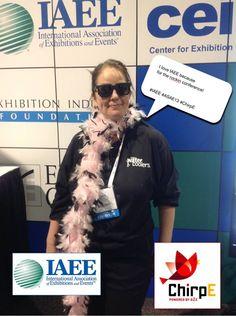 I love IAEE because for the rockin conference! #IAEE_HQ #ASAE13 #ChirpE #IAEE_MYM