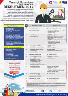 Rekrutmen Pegawai PT Pembangkitan Jawa-Bali (PJB) Tahun 2017  - PT Pembangkitan Jawa-Bali (PJB) seja...