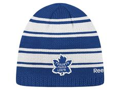 7423d55ecc6 TSN - Toronto Maple Leafs Reebok Winter Classic Youth Striped Toque. TSN  Shop · NHL