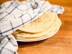 Tex-Mex-Style Soft and Chewy Flour Tortillas