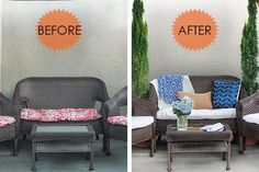 How To Recover Patio Cushions Without Sewing