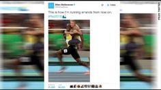 The 25+ best Usain bolt rio 2016 ideas on Pinterest   Bolt ...