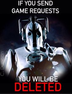 Facebook game warning - created by C. Duncan ~theBlueBoxBeachBum
