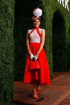 Myer Fashions on the Field Women's Racewear winner - Daniel Pockett/Getty Images for the VRC