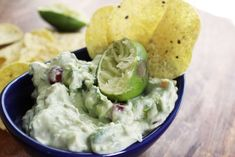 Sour Cream Lime Guacamole YES.