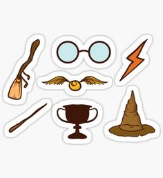 Harry Potter stickers featuring millions of original designs created by independent artists. Harry Potter Fan Art, Stickers Harry Potter, Harry Potter Drawings, Harry Potter Tumblr, Harry Potter Anime, Stickers Kawaii, Cute Laptop Stickers, Cool Stickers, Printable Stickers