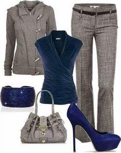 Llegan los fríos y elegir la ropa para ir a trabajar  se complica, ya que hay que buscar un equilibrio entre estar cómoda, elegante y abrig...