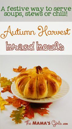 halloween bread ideas | Amazing bread bowls that are way easier than they look!""