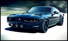 2015 Equus Bass 770 - Brand new car that looks like an old Mustang Mach 1 but has the Corvette ZR1 engine. Mmmmmm...