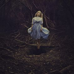 Los Angeles-based photographer Brooke Shaden creates hauntingly-beautiful works that seem to live in their own world.