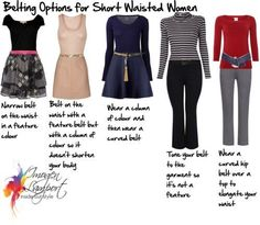 How to Solve the Belting Dilemmas for Short Waisted Women