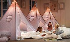Teepee canopy: a fun bed tent idea | Kids Teepee