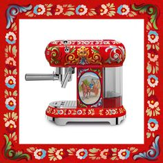 #1 Dolce & Gabbana Is Releasing A Line Of Kitchen Appliances Decorated With Sicilian Motifs