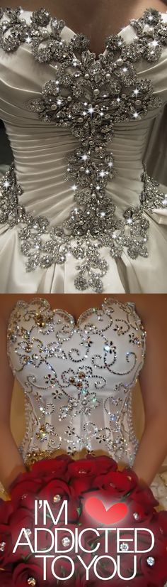 Discover thousands of styles about Embellished Wedding Gowns, Evening Dresses, Prom Dresses and Party #Dresses on I'm Addicted To You, ...with our every day special discount you can wear your dream wedding dress and make a new history in your life. We not only make sure to offer the latest designs for our visitors, we also offer both way free shipping to make sure to keep your confidence with your shopping experience. Look and click on the diamonds so we can take you to your dream land.