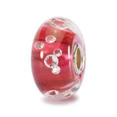 Trollbeads The Diamond Bead, Pink