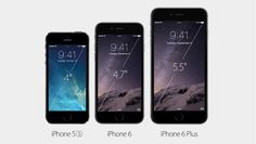 iPhone 5S iPhone 6 iPhone 6 Plus Different designs, different sizes