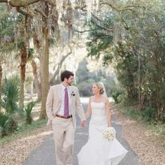 Bald Head Island, NC Margaret Spaeth gown; Anne Liles Photography