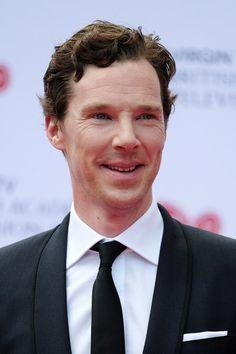 Benedict before BAFTA 2017